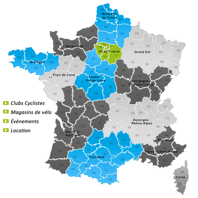 location vélo en france